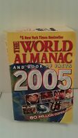 The World Almanac and Book of Facts 2005 (2004, Paperback)