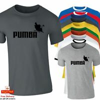 Mens Amusing Lion King PUMBA Funny T shirt Great Gift Idea