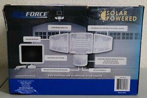 SunForce Solar Triple Head Motion Activated Light 110 LEDs 1500 Lumens Security