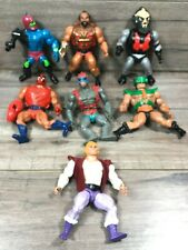 Vintage 1980s MOTU He-Man Masters of the Universe Action Figure Lot READ DESCRIP