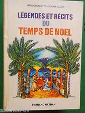 LEGENDES ET RECITS DE NOEL M.TOUSSAINT SAMAT AVEC ENVOI