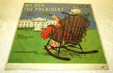 MY SON THE PRESIDENT LP NEW SEALED CLAN VINYL JOHN KENNEDY POLITICAL HUMOR JFK