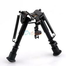 "Heavy duty 6"" to 9"" 5 level Adjustable Bipod for Rifle Gun Picatinny Rail Mount"