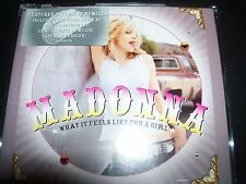 Madonna What It Feels Like For A Girl Australian Remixes 5 Track CD - Like New