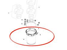 Oasis constaté dans le sachet pour BioPress 8000//12000 filtre Matériau Filtre 28526