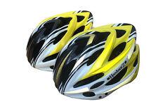 HardnutZ Bike Helmet Road Mountain Bicycle Cycling Hi Vis MTB Yellow 54-61cm New