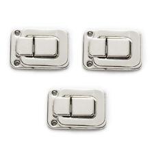 5 Sets Silver Tone Toggle Catch Latch Suitcase Case Box Trunk Box 40x27mm