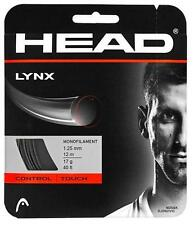 Corde Tennis HEAD Lynx 1.25 n.1 matassina 12m monofilamento nero
