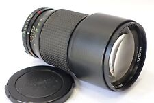 Minolta MD Tele Rokkor 200mm 1:2.8 lens fits X700 XD7 XE1 X-M camera mount