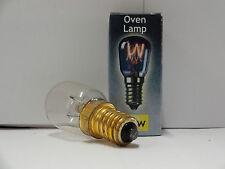 2 x 25watt Crompton Oven Lamps / Cooker Light Bulbs SES E14 - 230v - 300 Degree