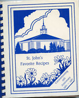 Winter Haven Florida Cookbook-St Johns United Methodist Church-Cooking-Recipes
