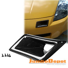 For 2003-2007 Nissan 350Z Z33 Real Carbon Fiber Bumper Air Duct Intake Mounting