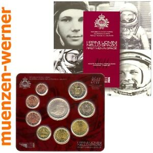 offizieller Münzen Satz San Marino 2011 Euro·Münze·KMS