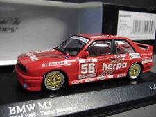 BMW M3 E30 DTM Tauber herpa #56 Müller 1988 Albedo Minichamps 1:43