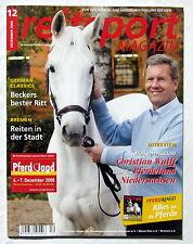 reitsport MAGAZIN für das Pferdeland Niedersachsen und Bremen - 12/2008
