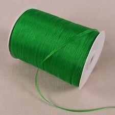 (20 yards/lot) 1/8''(3mm) organza ribbons gift wedding Christmas decoration