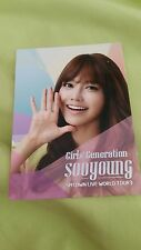 SNSD Sooyoung smtown live world tour3 official Photocard card Kpop K-pop