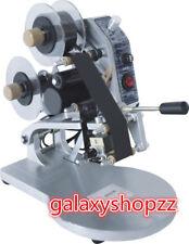 Manual Hot Stamping Coding Printer Machine Ribbon Coding Date Batchcharacter220v