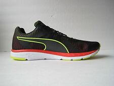 PUMA Speed 500 IGNITE Men's Running Shoes 189081 02 Size 12 Black Yellow Red