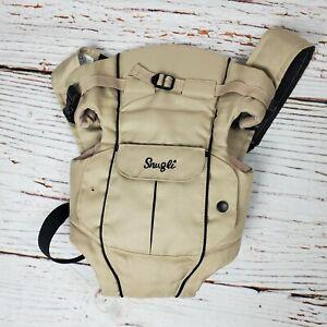 Snugli Double Comfort Baby Carrier Backpack Beige Infant
