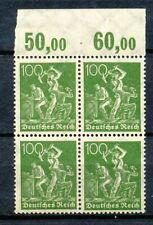 Reich 187  2 x POR in blok van vier postfris