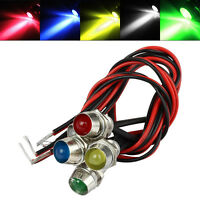 5 LED Indicator Light Lamp Pilot Dash Directional Car Truck Boat 12V