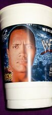 The Rock Dwayne Johnson 7-11 Slurpee 32 oz Cup (2002) WWE WWF SmackDown