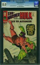 Tales to Astonish #87 CGC 8.0 -- 1967 -- Krang. Boomerang.  #0132975019