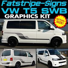 VW TRANSPORTER T5 SWB GRAPHICS STICKERS STRIPES DECALS DAY VAN CAMPER CONVERSION