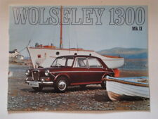 WOLSELEY 1300 MK.II SALOON orig 1969 1970 UK Mkt Sales Brochure - #2586/D