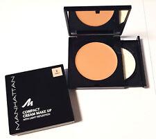 Manhattan Compact Cream Make Up mit Licht Reflection ver. Farben 10g