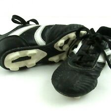Youth Soccer Cleats Size 13 Black White Lace Up Shoes Starter Triple Trak Kids