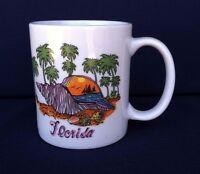 Florida Coffee Mug Souvenir Tourist Collectible Good Condition