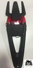 Portatarga Moto Enduro Cross Motard BETA parafango con stop led rossa