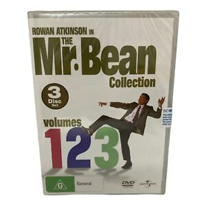 Brand New & Sealed Mr. Bean Collection - Complete Volumes 1, 2, 3 DVD Set