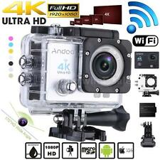 WiFi 4K HD1080P 16MP Waterproof Sport DV Video Action Camera Helmet Camcord