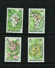 Ascension Island: 1985, Wild Flowers, Fine Used set