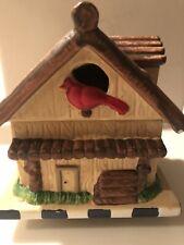Electric Simmering Potpourri Pot, Hand painted Bird House Design