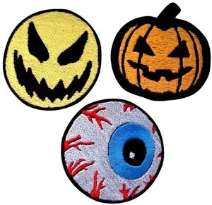 Halloween Patch Embroidered Iron On Patches Fancy Jacket Badge Jeans Applique