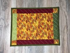 Handmade Patchwork Quilted Placemat 100% Cotton - Set Of 4