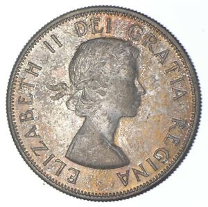 Better Date - 1958 Canada 50 Cents - SILVER *264