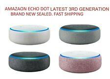 Amazon Echo Dot Alexa 3rd generación blanco arenisca Gris Carbón Nuevo Sellado