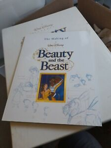 The Making of The Beauty and The Beast Book By Bob Thomas