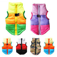 Winter Dog Coats Pet Cat Puppy Chihuahua Clothes Hoodie Sweater Waistcoat Jacket