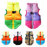 Pet Dog Vest Coat Jacket Warm Waterproof  Clothes Puppy Winter Apparel Clothing