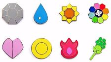 Pokemon Gym Badges: Gen 1 - Kanto League (Iron, Small Version)