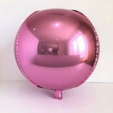 "Brand New 22"" Sphere Orb Round Balloons Pink Party Balloons"
