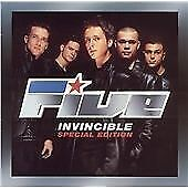Five - Invincible (Limited Edition) [ECD], Five, Very Good CD