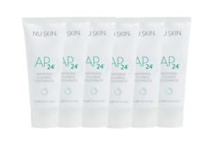 6 x Nu SKin AP-24 Whitening Fluoride Toothpaste 110g *AU stock *Exp10/2023 New