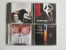 STOCK 4 X CD OST SOUNDTRACK TITANIC SPIRIT SCREAM 3 NO LP MC